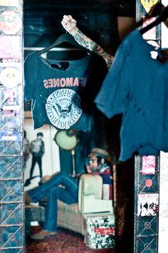 Vintage Ramones tee by Christian Benner | NYC