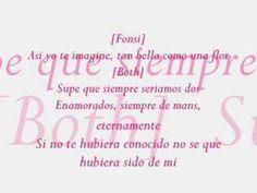 SI NO TE HUBIERA CONOCIDO...Cristina Aguilera y Luis Fonsi.