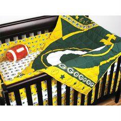 f8712fb7e Green Bay Packers NFL Micro Fiber Crib Set  74.95 Sale   71.20Save  5%