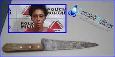Mulher é presa por atacar casal de idosos em Campos Gerais-MG