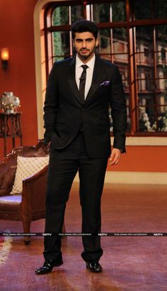 Arjun Kapoor on the set of Comedy Nights With Kapil