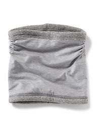 Sweater-Knit Reversible Neck Warmer