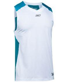 UNDER ARMOUR Under Armour Men's Steph Curry HeatGear® Sleeveless T-Shirt. #underarmour #cloth #