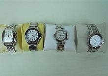Collection of Four Cased Men's Watches WWW.JJAMESAUCTIONS.COM