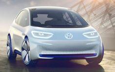 Volkswagen ID, concept car green con vocazione autonoma Abitualmente non mi interesso di auto ma, gli ultimi motor show, devo ammetterlo, si stanno caratterizzando per un alto tasso tecnologico. Diversi veicoli presentati nell'ultimo anno annoverano forme #volkswagen #saloneauto #parigi