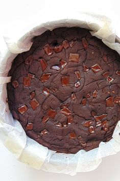 Brownie de alubias rojas sin azúcar