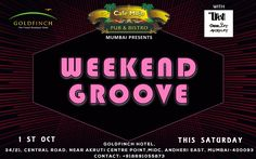 Cafe Mojo Mumbai presents the Weekend Groove Party for all party goers in town. Be there for some insane music, dancing and night to let loose. #Pubs #Party #Beer #Fun #Beers #Enjoy #GoodTimes #OntheBar  #Parties #PartyMusic #DrinkLocal #Music #Dance #Pub #Drinks #EatLocal  #BeerDrinks #Mumbai  #OnthePub.
