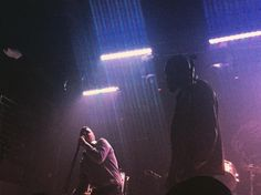 """""""No to countries no to borders no to Donald Trump...he's a cunt"""" - Young Fathers @ the mezzanine San Francisco by katiepennick"""