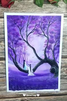 10 Awesome Acrylic Painting For Home Decor Painting Tutorial Videos Simple Acrylic Paintings, Easy Canvas Painting, Modern Art Paintings, Beautiful Paintings, Watercolor Paintings, Canvas Art, Beginner Painting, Painting Inspiration, Art Drawings