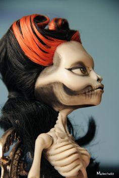 Ooak Monster High Skelita