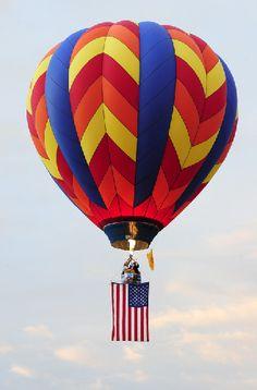 Pilot your balloon at the Albuquerque International Balloon Fiesta. http://www.balloonfiesta.com/pilots-and-crew/pilot-application