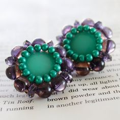 Plugs Size 2g 0g 00g and Up Purple and Teal by somedaysoonjewelry, $30.00
