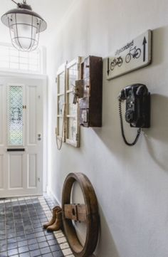 """This sturdy entrance is from our feature """"Vintage Tales"""""""