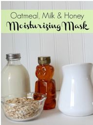 8.#Honey and #oatmeal make my mornings much better and refreshing, and I can't wait to mix them together and apply the paste on my face. Simple honey & oatmeal facial mask is perfect for sensitive skin, #acne and #dry skin.