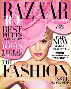 Gwen Stefani Covers 'Harper's Bazaar' September 2012