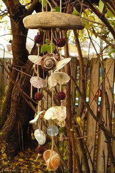 shells & beads & driftwood~a few of my fav things :)
