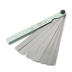 $9.13 (Buy here: https://alitems.com/g/1e8d114494ebda23ff8b16525dc3e8/?i=5&ulp=https%3A%2F%2Fwww.aliexpress.com%2Fitem%2FMetal-150mm-Long-0-02mm-1-00mm-Thickness-Feeler-Gauge-Blades-17-in-1%2F32226506541.html ) Metal 150mm Long 0.02mm-1.00mm Thickness Feeler Gauge Blades 17 in 1 for just $9.13