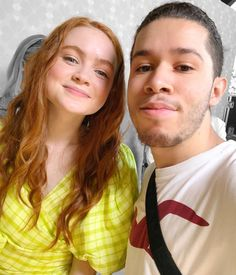 Stranger Things Max, Sadie Sink, Beautiful Redhead, The St, Cute Pictures, It Cast, Actresses, Couple Photos, Celebrities