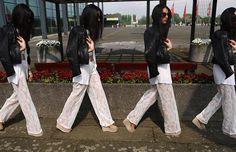 H Lace Pants, H Wedges