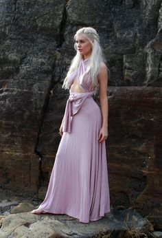 Daenerys Targaryen - Stock 5 by Mirish Game of Thrones Model: Miranda Hedman mirish.deviantart.com female cosplay costume LARP armor clothes clothing fashion player character npc | Create your own roleplaying game material w/ RPG Bard: www.rpgbard.com | Writing inspiration for Dungeons and Dragons DND D&D Pathfinder PFRPG Warhammer 40k Star Wars Shadowrun Call of Cthulhu Lord of the Rings LoTR + d20 fantasy science fiction scifi horror design | Not Trusty Sword art: click artwork for source