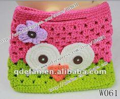 2012 baby crochet bolsa patrón de bebé de punto cartera bebé precioso monedero niña-Sets de Regalo-Identificación del producto:608319908-spanish.alibaba.com