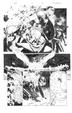 Avengers vs X-men 11 pg 14 by ~MarkMorales on deviantART