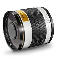 Walimex Pro 500mm 1:6,3 DSLR Spiegel-Teleobjektiv (Filtergewinde 34mm) für Canon EF Objektivbajonett weiß - http://kameras-kaufen.de/walimex-pro/walimex-pro-500mm-1-6-3-dslr-spiegel-teleobjektiv