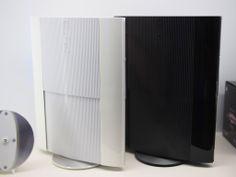 PS3 Super-Slim Black-White 500gb