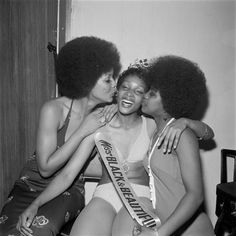 blackhistoryalbum:  MISS BLACK & BEAUTIFUL | 1970s West Indian Beauty Pageant. London, 1960's Photo credit:Raphael Albert via Talented T...