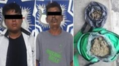 Policía estatal detiene a dos sujetos con un Kg de marihuana en Tuxtepec