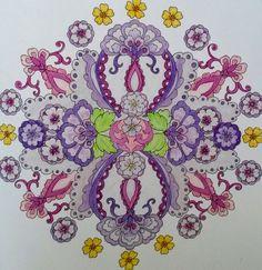 Mijn wonderlijke wereld Holland, Cross Stitch Embroidery, Wonders Of The World, Coloring Books, Paisley, Mandala, Den, Colour, Beautiful