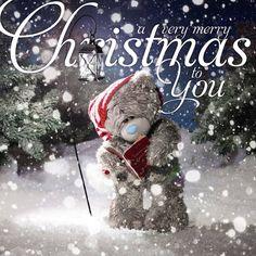 a very merry Christmas to you ♡ Tatty Teddy tjn Christmas Love, Christmas Wishes, Christmas Pictures, Christmas And New Year, Vintage Christmas, Christmas Cards, Merry Christmas, Christmas Decorations, Xmas