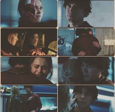They have come so far... 4x13 #Bellarke #The100 The 100 Show, The 100 Cast, I Cant Lose You, Bob Morley, Head And Heart, Clexa, Bellarke, We Meet Again, Film Books