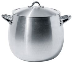 Alessi Mami Stock Pot with Lid by Stefano Giovannoni Foyers, Best Electric Pressure Cooker, Induction Heating, Alessi, Pot Lids, Bakeware, Kitchen Knives, Kitchen Dining, Kitchens