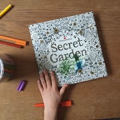 Secret Garden, an intricate colouring book, also great when traveling or when waiting at the restaurant.