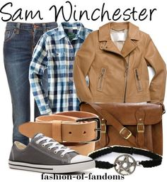 Fandom Fashion - Sam Winchester ^might dress like that tomorrow