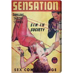 Oliver Gal 'Sensation' Canvas Art
