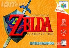 Nintendo 64 Legend of Zelda: Ocarina of Time (iOffer)