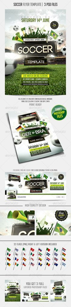 Cinco De Mayo Party Flyer Fonts, Flyer template and Texts - soccer flyer template