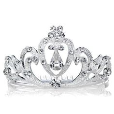 Amazon.com: Toddlers and Tiaras Inspired: Alana's Faux Diamond Petite Princess Tiara: Jewelry