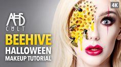 AHS: Cult Beehive Halloween Makeup Tutorial: Ellimacs Sfx Makeup AHS: Cult Beehive Halloween Makeup Tutorial Team… More at hauntersweb.com