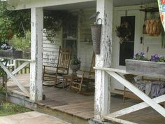 Old Country Front Porch