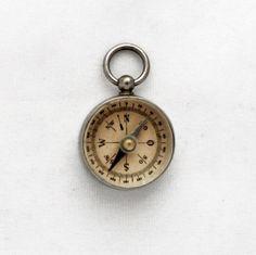 Vintage 1930s  Compass Pendant / Antique German by GrandpasMarket, €66.90