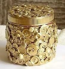 A pretty way to decorate a jar.