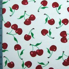 Our new Cherry Spandex fabric - LOVE it! Swimsuit Fabric, Vintage Swimsuits, Fabric Swatches, Spandex Fabric, Stretch Fabric, Sprinkles, Cherry, Creations, Candy