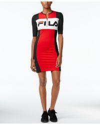 Image result for fila colorblock dress