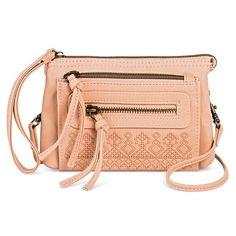 5 x 7 Blush crossbody handbag