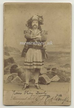 Original, Victorian Cabinet Theatre Photograph of Mr Richard Temple well known actor, playing a part as a Pirate in the Pirates of Penzance by Gilbert and Sullivan Opera. Signed in ink by Richard Temple, lovely strong autograph. Pirates, Theatre, Opera, Actors, Movie Posters, Opera House, Theatres, Film Poster, Billboard
