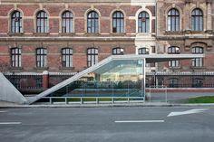 spora architects budapest metro stations fovam ter szent gellert ter designboom