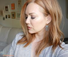 Strawberry Blonde Short Hair Lob Cut - GirlGetGlamorous